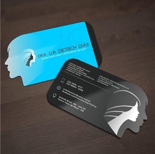 cartão visita-papelaria