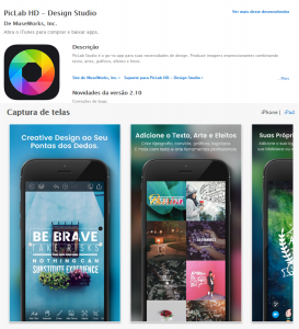apps para designers_PicLab