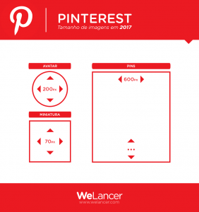 Formatos para redes sociais - PINTEREST
