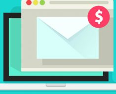 layout de e-mail marketing
