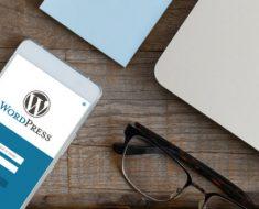site no wordpress